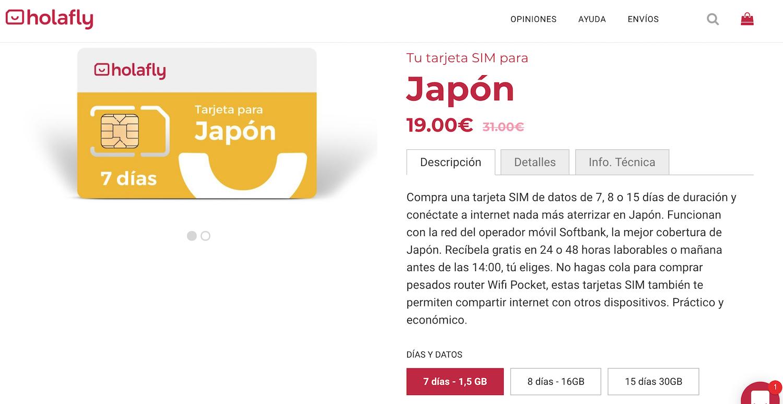 Comprar tarjeta sim de prepago en España