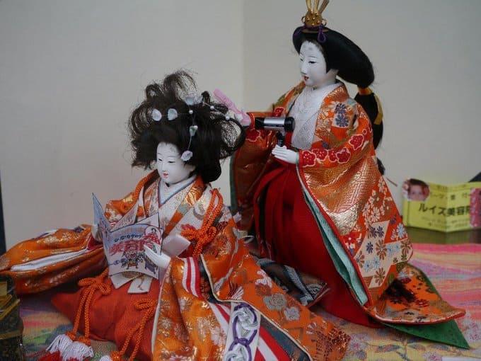 Fukuyose-bina del Festival de Muñecas o Hinamatsuri