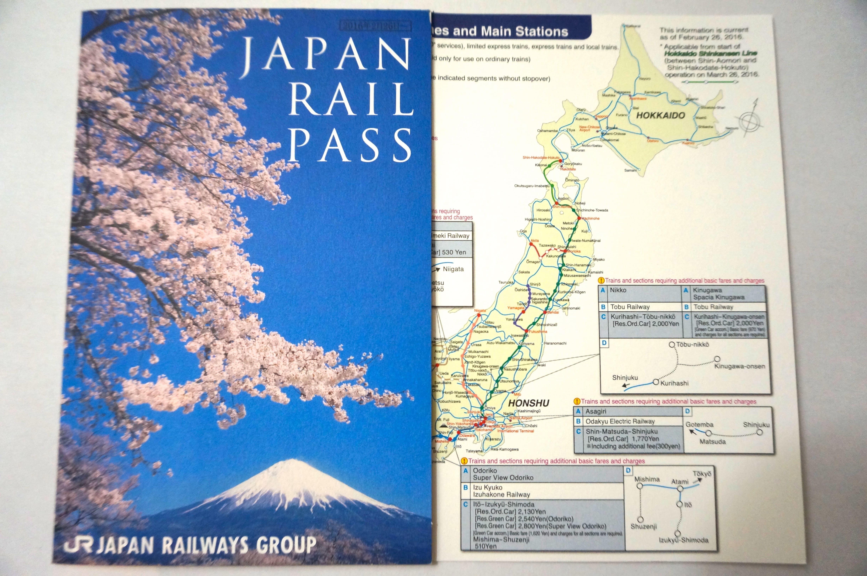 Comprar Japan Rail Pass original