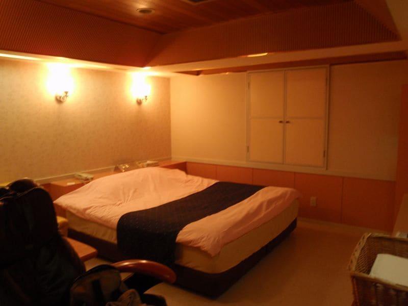 Habitación de un Love Hotel en Shinjuku, Japón