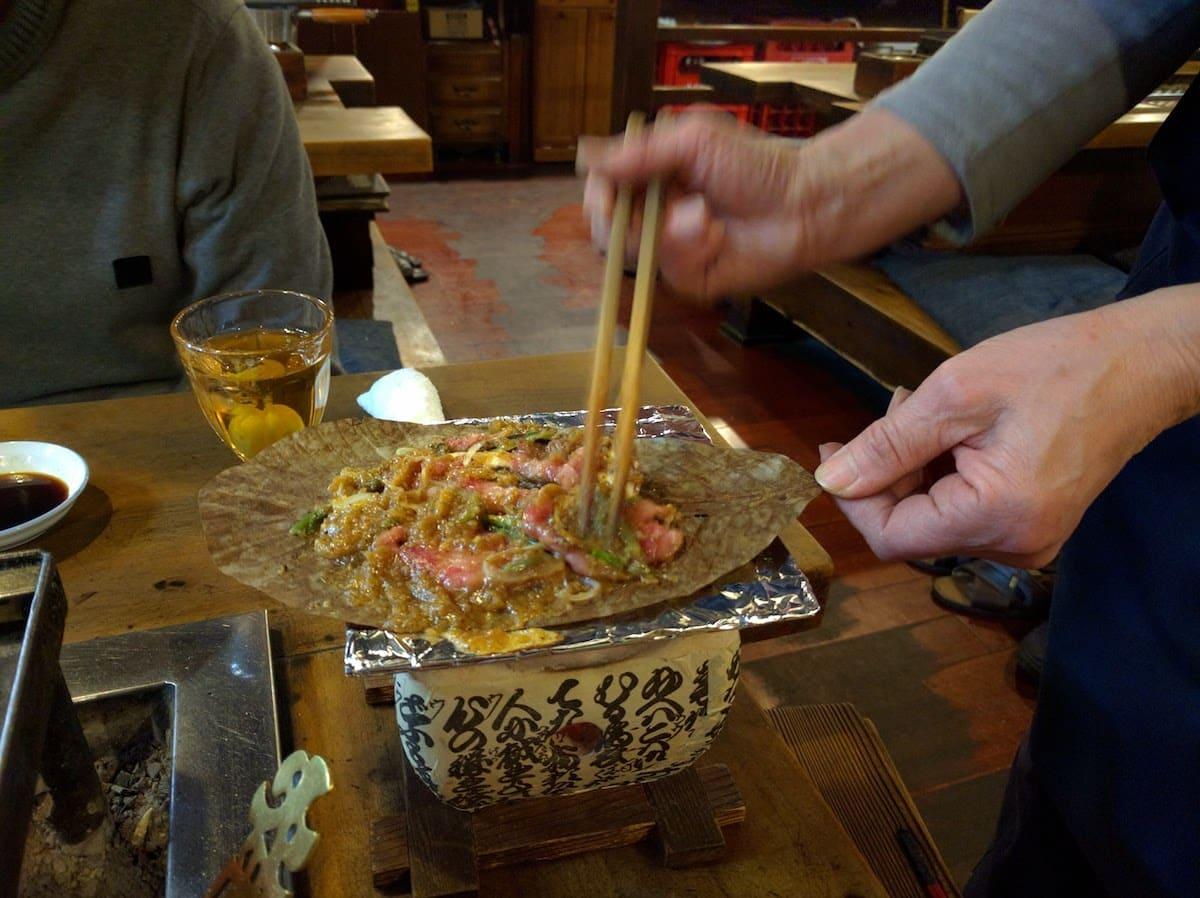 Restaurante de Carne de Hida de Takayama