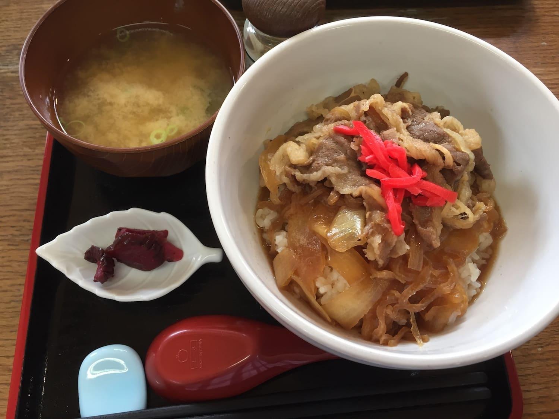 Gyudon, uno de los 13 platos típicos de Japón