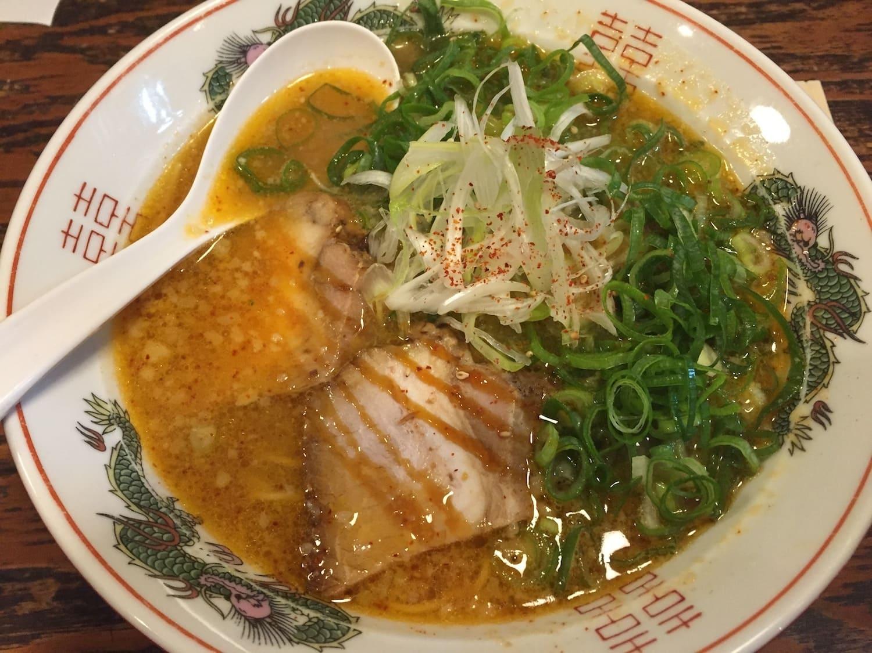 Ramen picante, uno de los 13 platos típicos de Japón