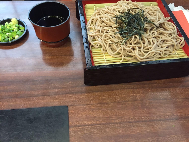 Soba, uno de los 13 platos típicos de Japón