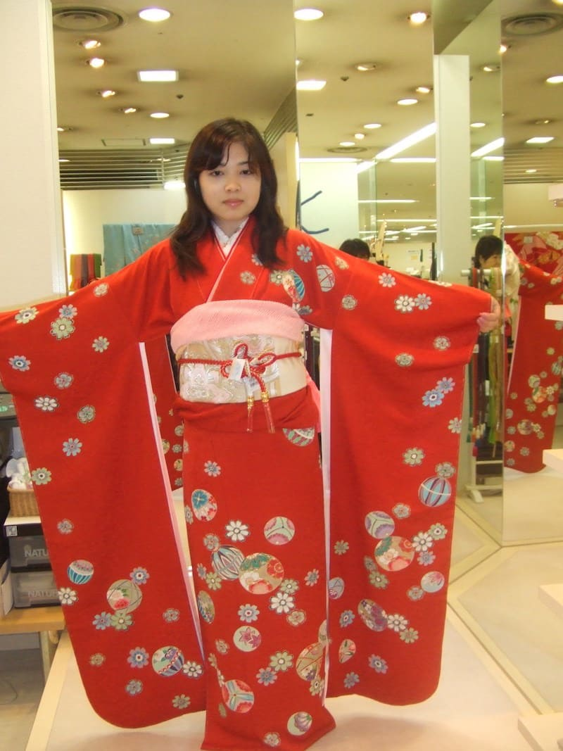 Kimono del Seijin no Hi