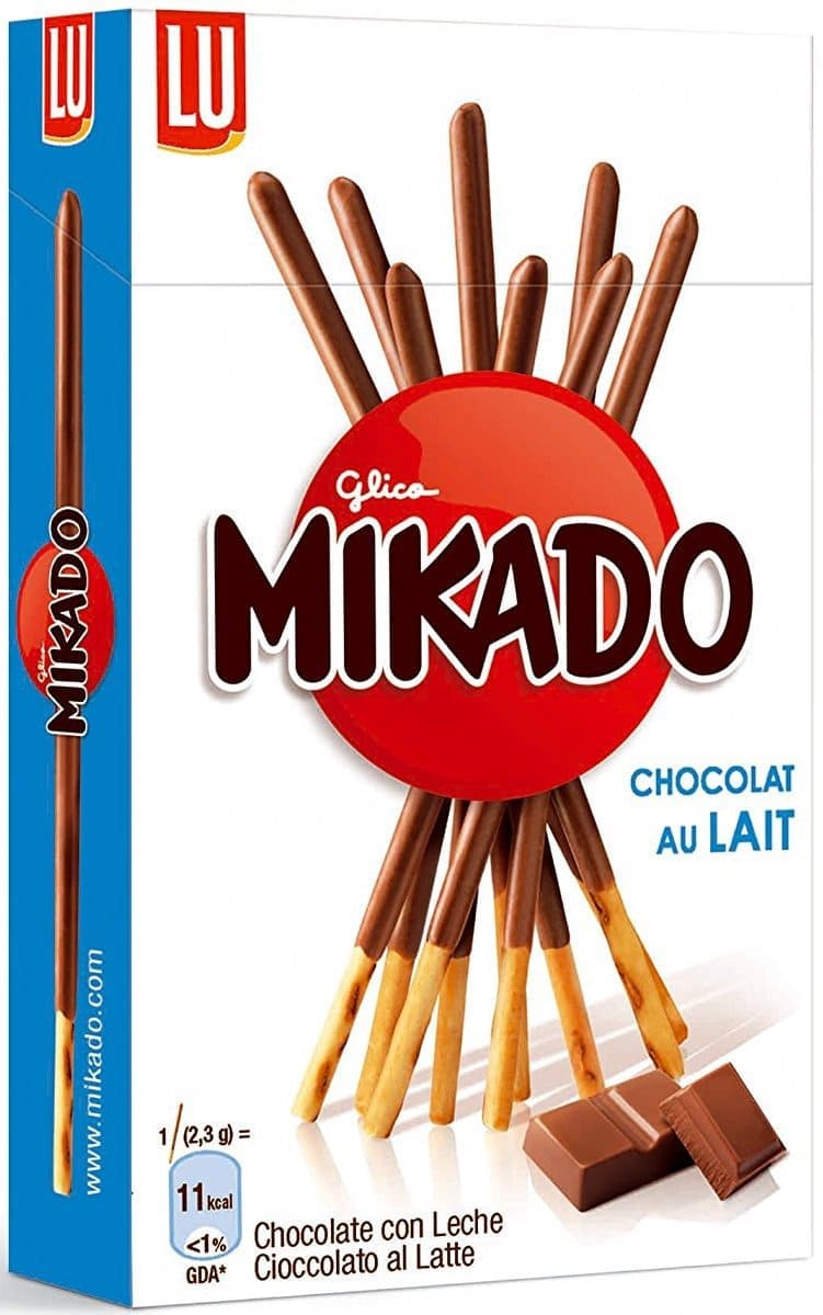 Sticks de chocolate Mikado de Glico