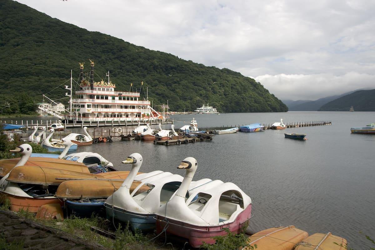 Lago Ashinoko de Hakone