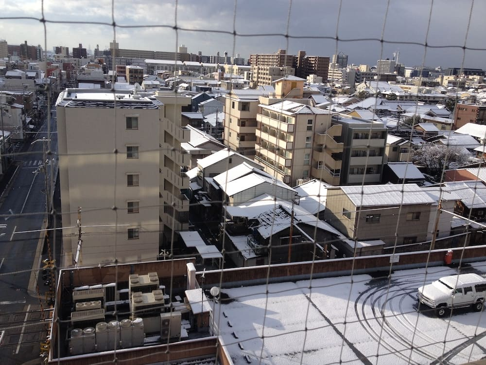 Hotel en invierno