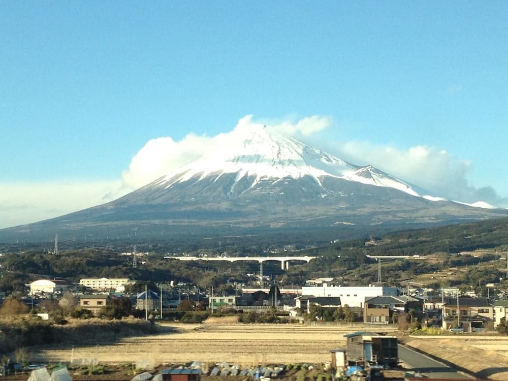 Monte Fuji en invierno
