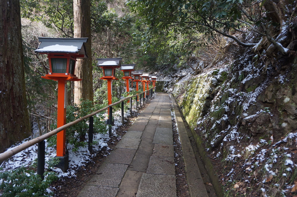 Kuramadera en invierno