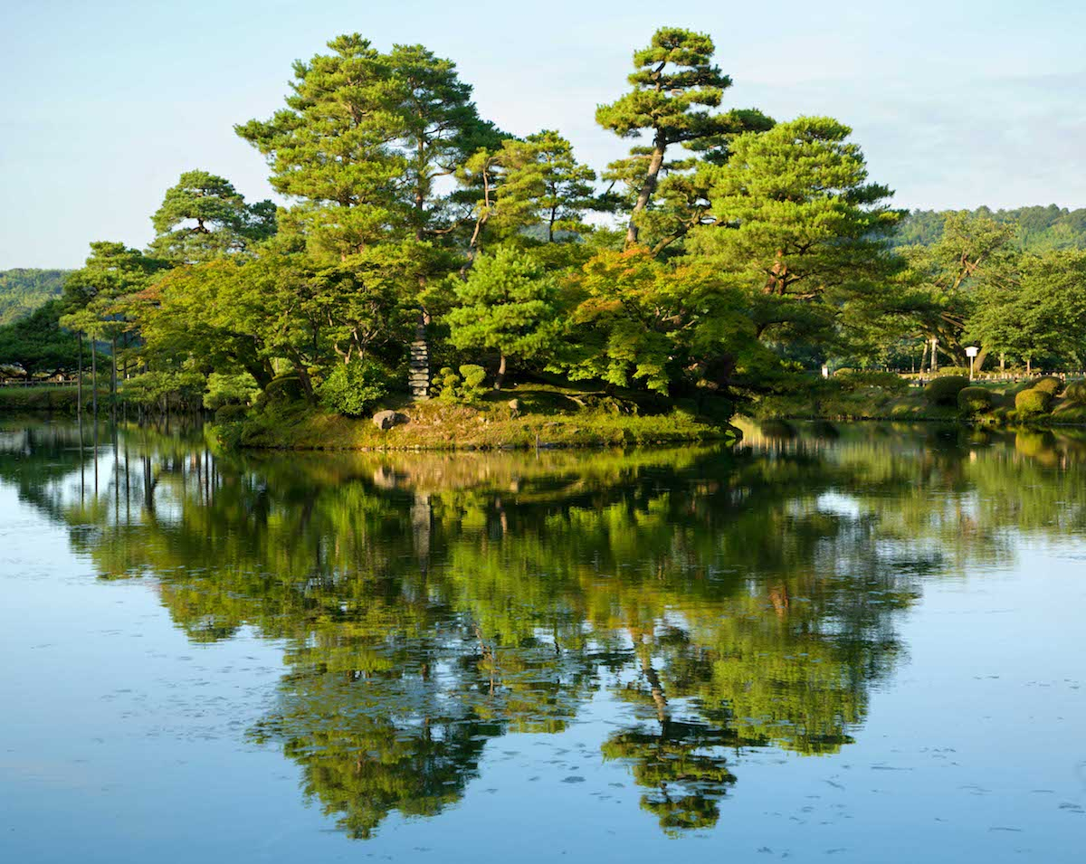Jard n kenrokuen de kanazawa for Jardin kenrokuen en kanazawa