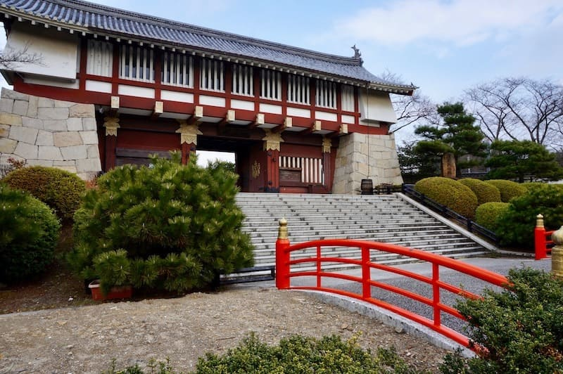 Puerta del Castillo Fushimi-Momoyama