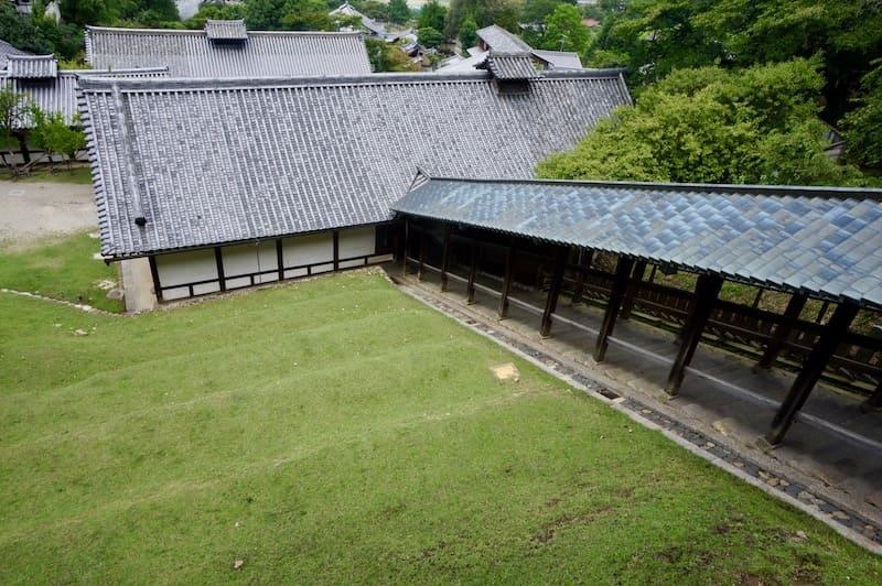 Escaleras del Templo Nigatsudo