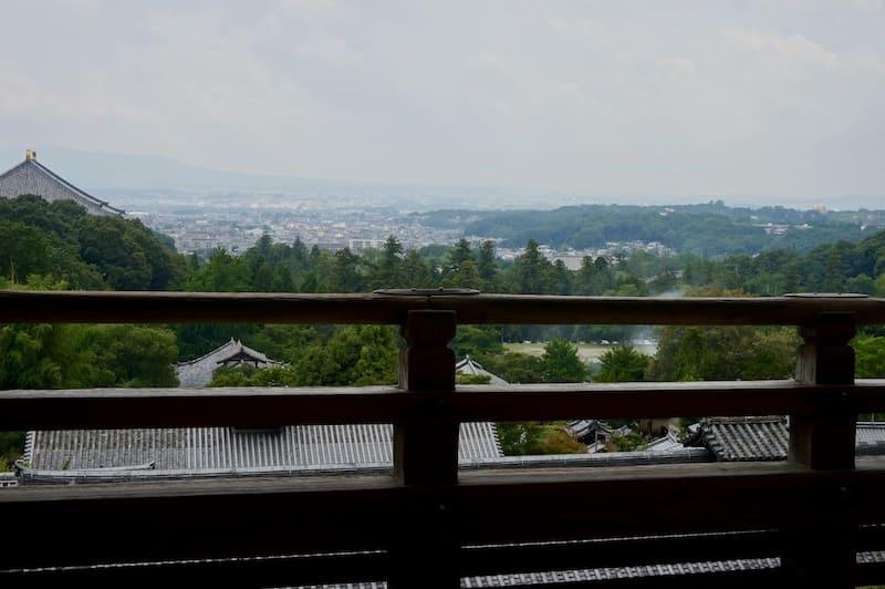 Terraza del Templo Nigatsudo