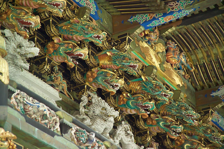Decoración del Santuario Toshogu