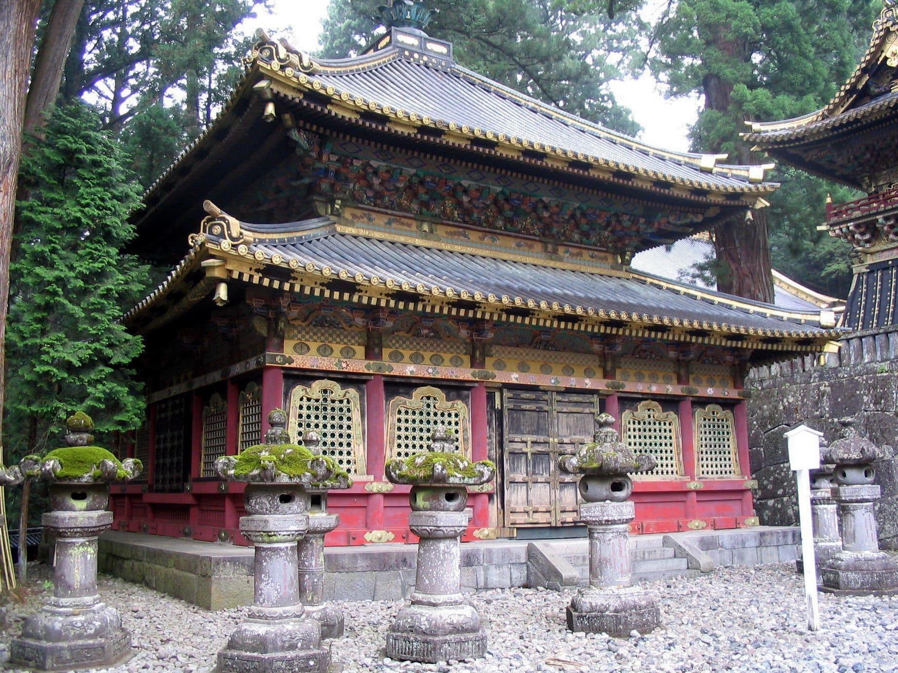 Edificio del Santuario Toshogu