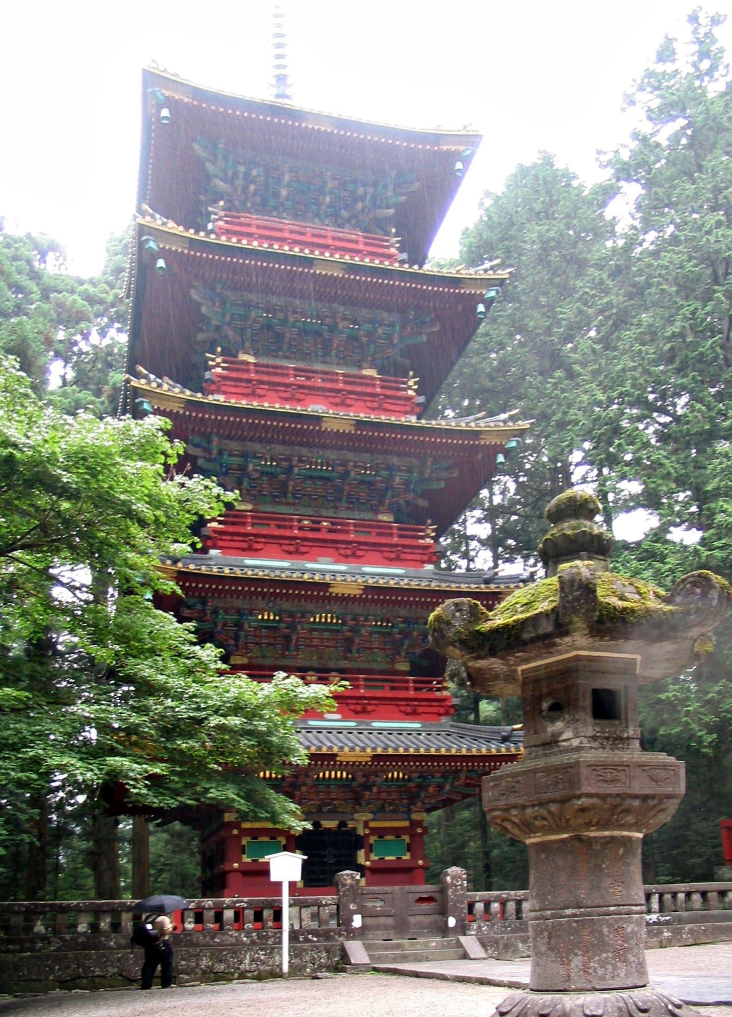 Pagoda del Santuario Toshogu