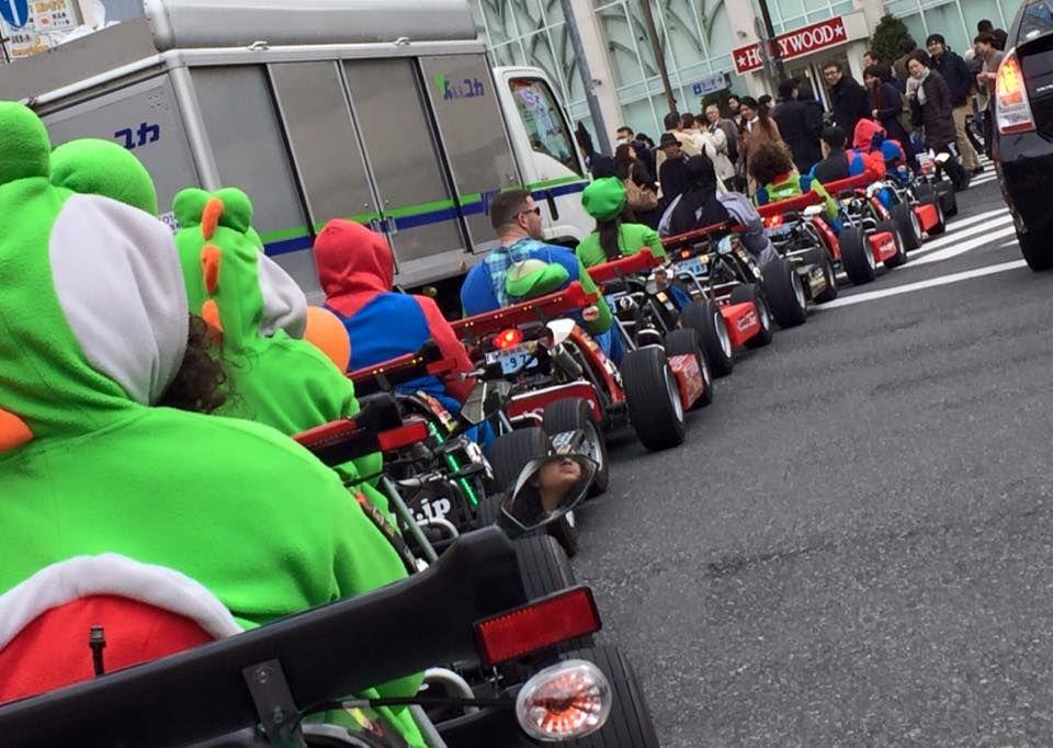 Karting en Tokyo