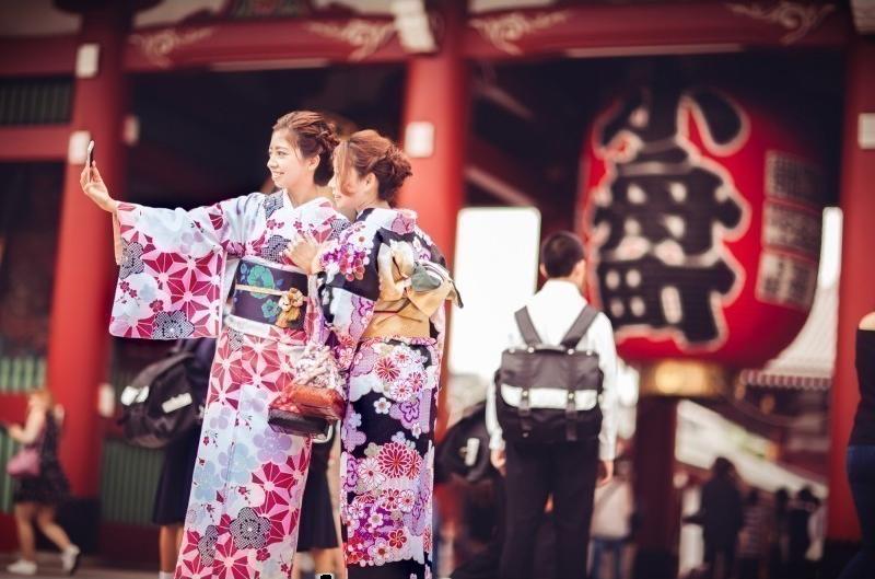 Alquilar kimono en Asakusa