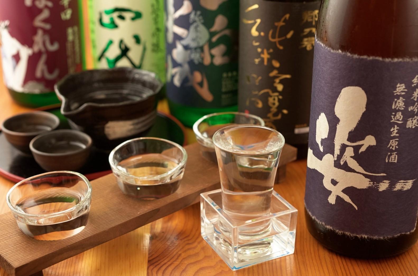 Beber sake en Tokyo