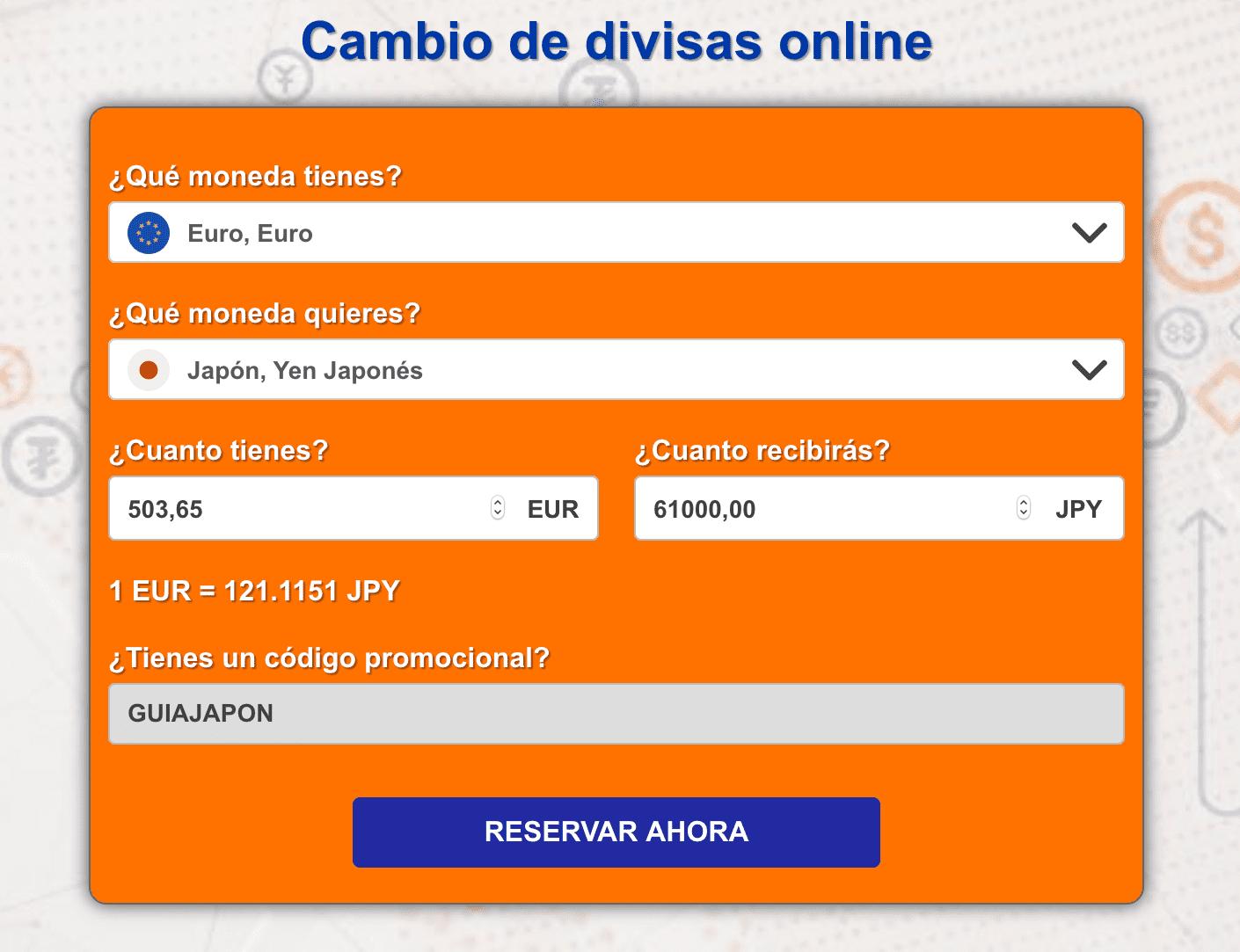 Cambio de divisas online: Ría Cambio de Divisas