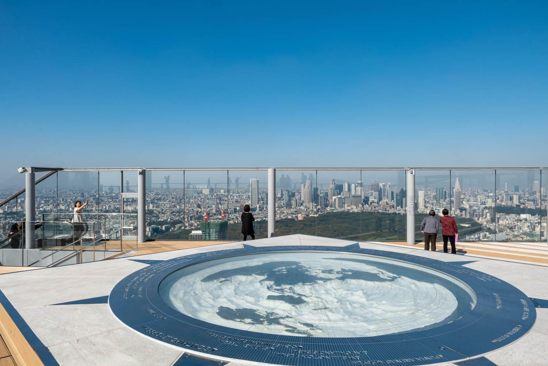 Observatorio Shibuya Sky / @<a href=