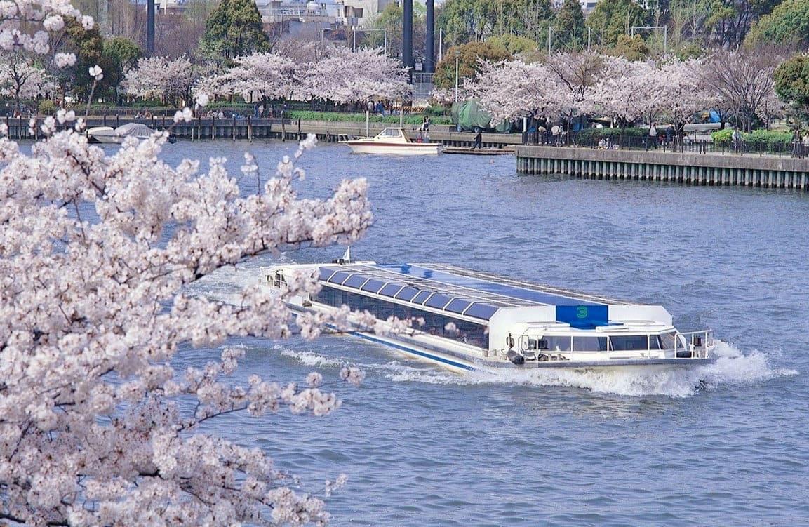Parque Kema Sakuranomiya de Osaka