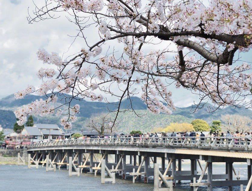 Puente Togetsukyo de Kyoto