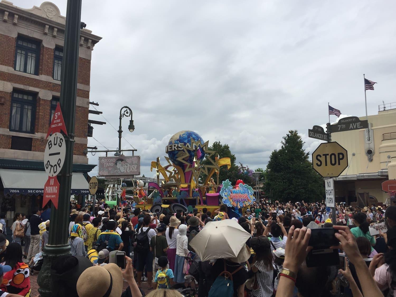 Fotografía 1 del desfile de carrozas del Universal Studios Japan