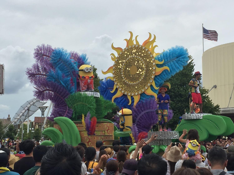 Fotografía 2 del desfile de carrozas del Universal Studios Japan