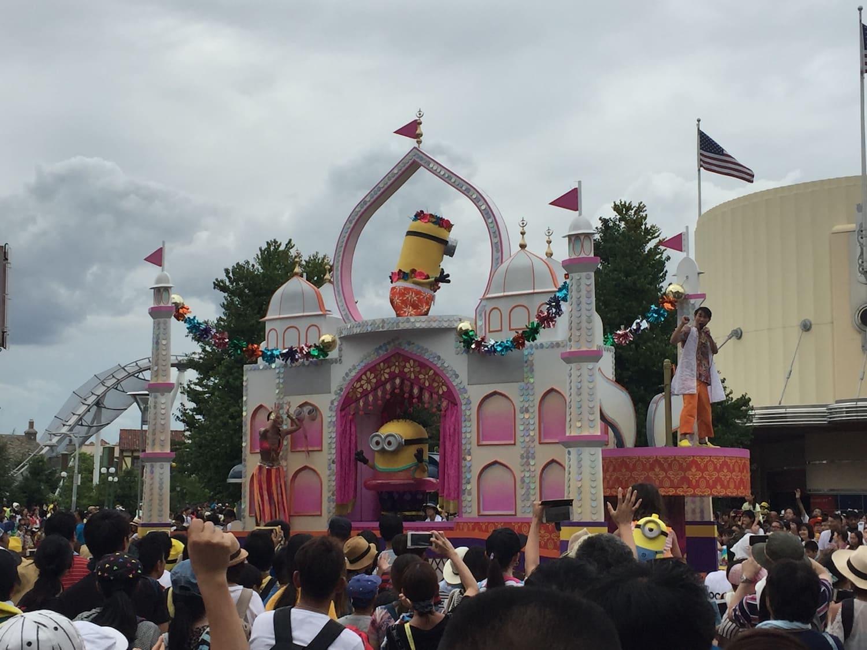 Fotografía 3 del desfile de carrozas del Universal Studios Japan