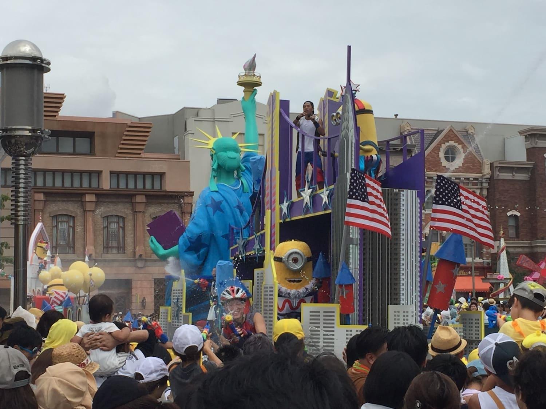 Fotografía 4 del desfile de carrozas del Universal Studios Japan