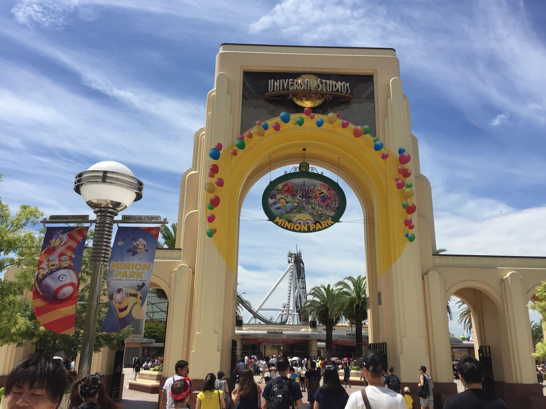 Entrada al Universal Studios Japan