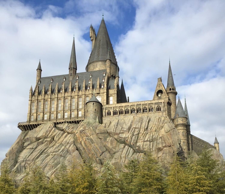 Objeto de la película Harry Potter en el USJ