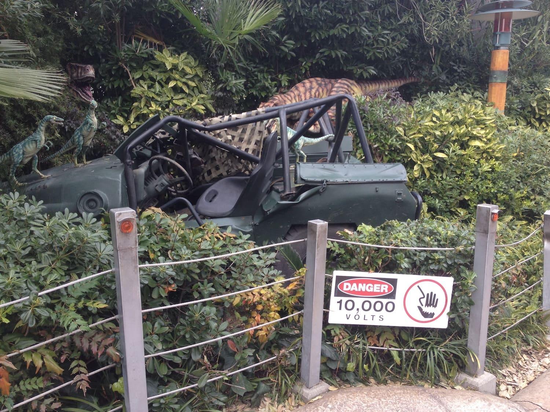 Zona de Jurassic Park del Universal Studios Japan