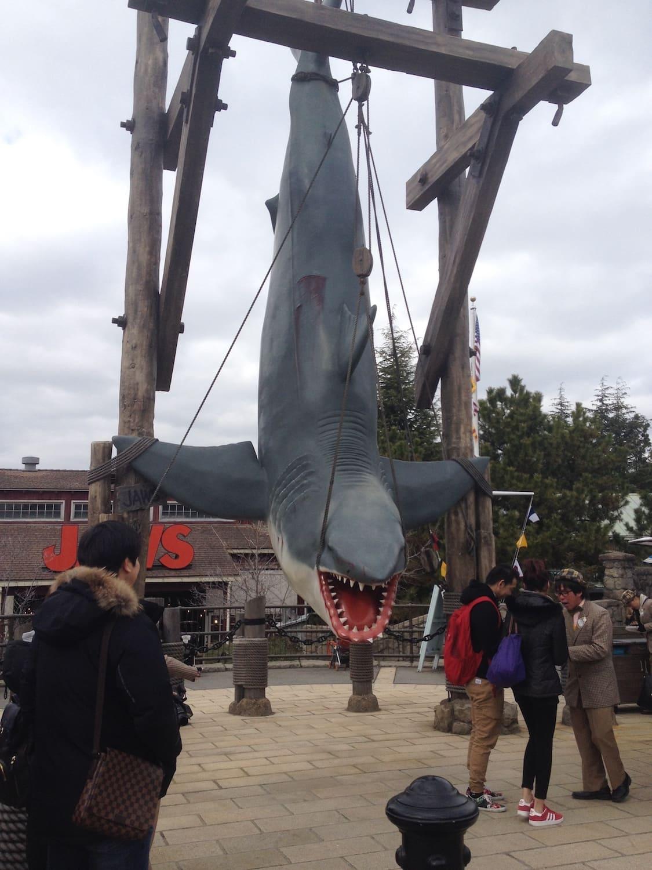 Zona de Tiburón del Universal Studios Japan